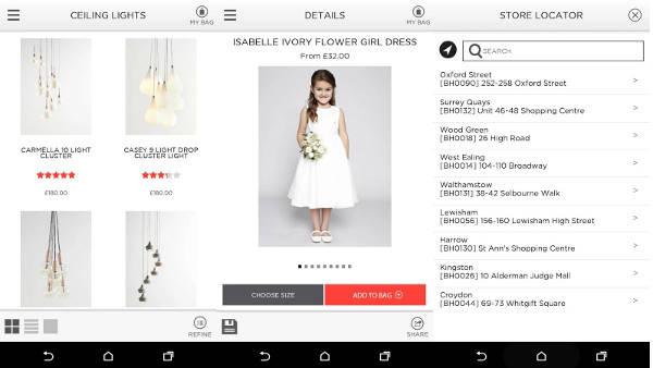 BHS mobile app