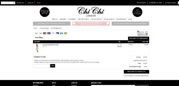 Chi Chi London discount code