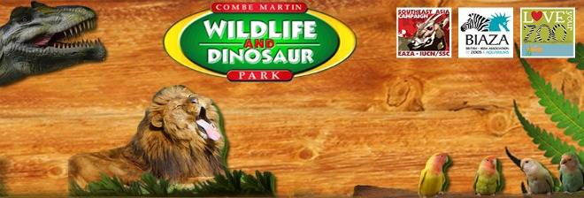 Combe Martin Wildlife and Dinosaur Park banner image