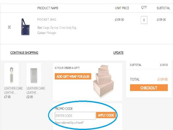 How to use Radley discount codes