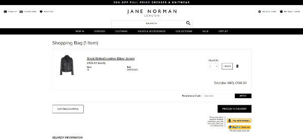 Jane Norman promo codes