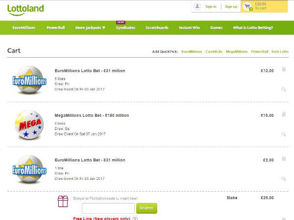 Lottoland discount code