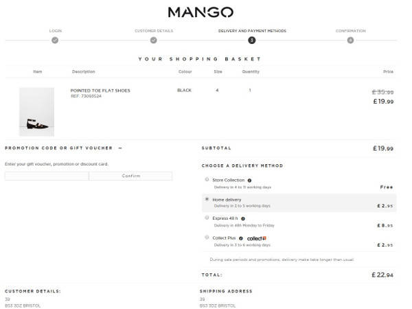 Mango promo code