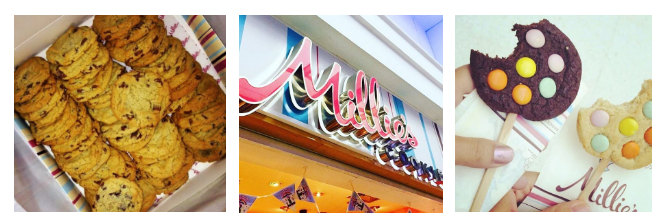 Millie's Cookies voucher banner