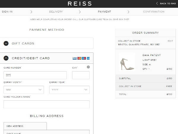 How to Redeem a Coupon Code at Reiss. Since there are always new promo and coupon codes for Reiss being added to the store's Giving Assistant page, it .