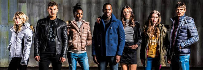 Superdry clothing