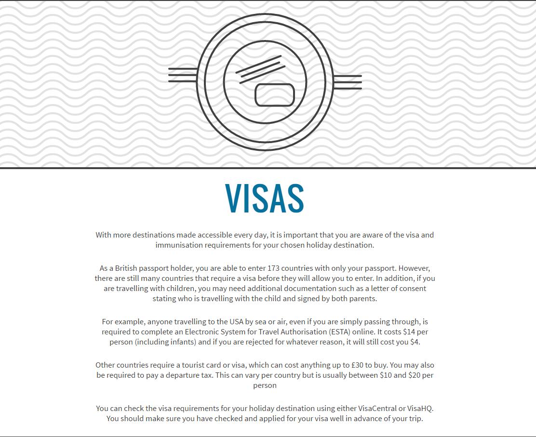 Hidden Travel Visas