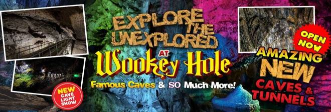 Wookey Hole Caves banner image
