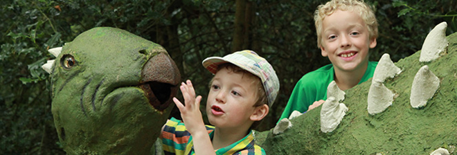 The Dinosaur Park voucher banner