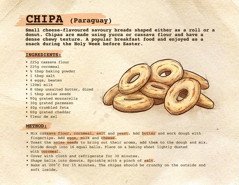 Easter Treats Chipa recipe