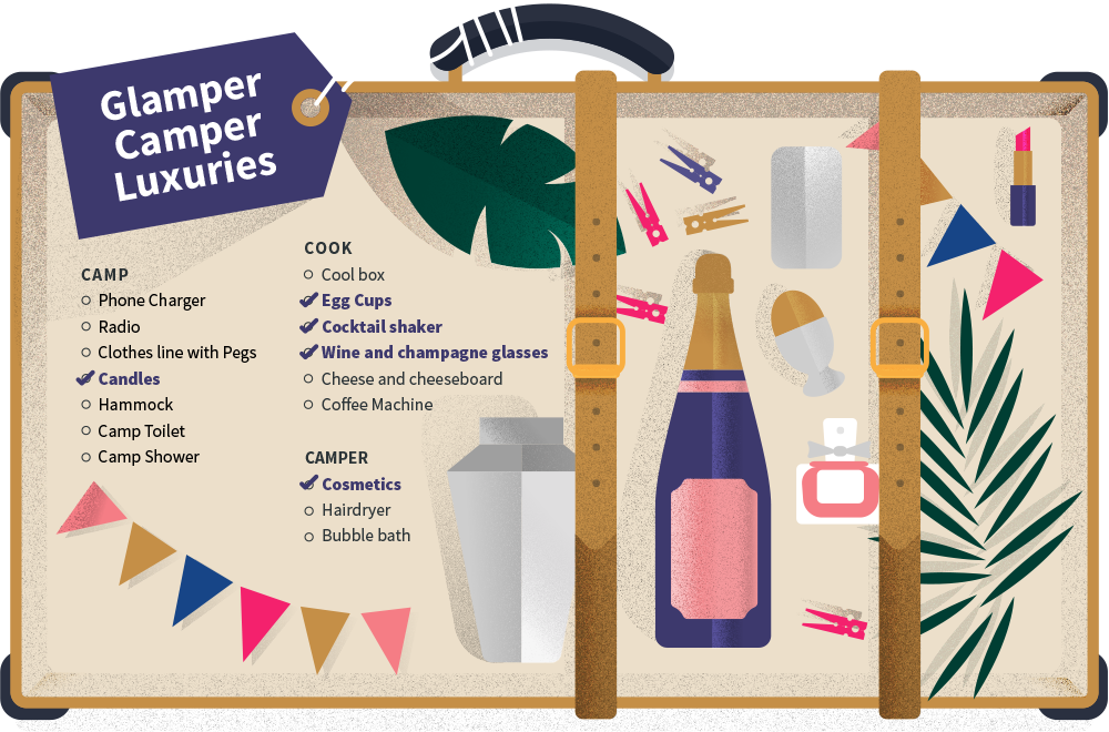 glamper camper luxuries