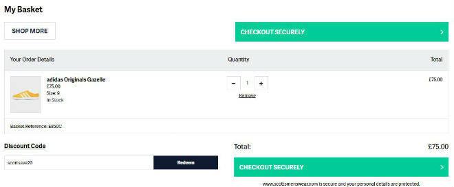 scotts discount code