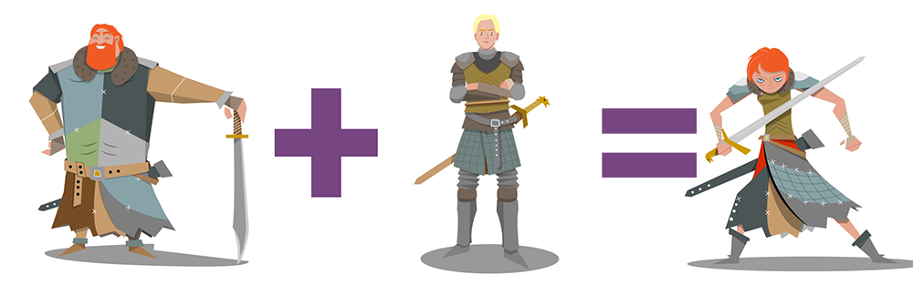 Tormund and Brianne Child - Game of Thrones Children
