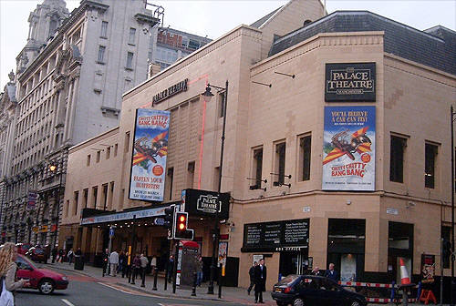 whats on palace theatre manchester