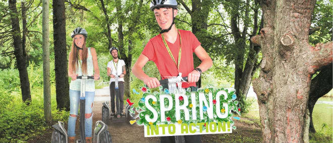 Adventure Segway Spring into Action