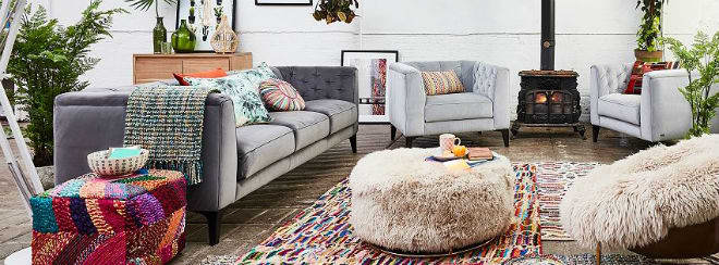 Barker and Stonehouse Living room