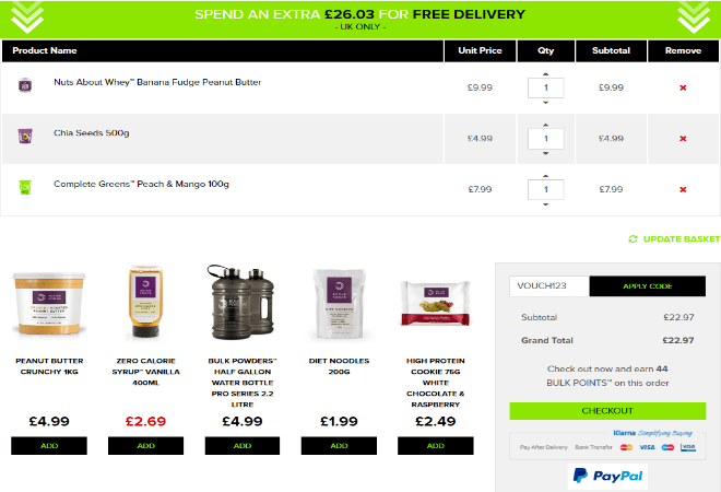 Bulk Powders Voucher Code
