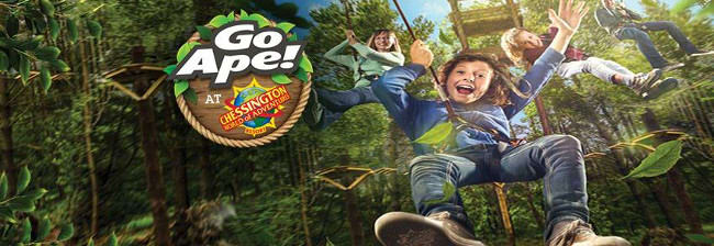 Chessington go ape