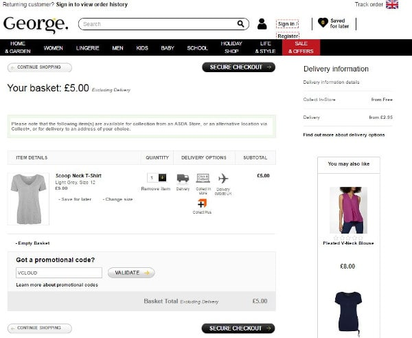 50 Coupon Codes. Matalan 43 Coupon Codes. Marks and Spencer 50 Coupon Codes. Mothercare 50 Coupon Codes. Ocado 50 Coupon Codes. BHS 20 Coupon Codes. Next 29 Coupon Codes. Very UK 27 Coupon Codes. Debenhams 50 Coupon Codes. Waitrose 19 Coupon Codes. Wilko 14 Coupon Codes. Superdrug 30 Coupon Codes. Toys R Us UK 8 Coupon Codes. John Lewis