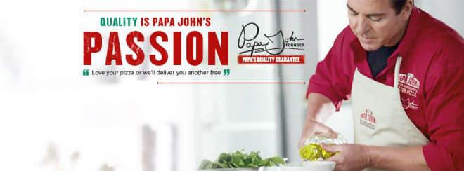 Papa John passion