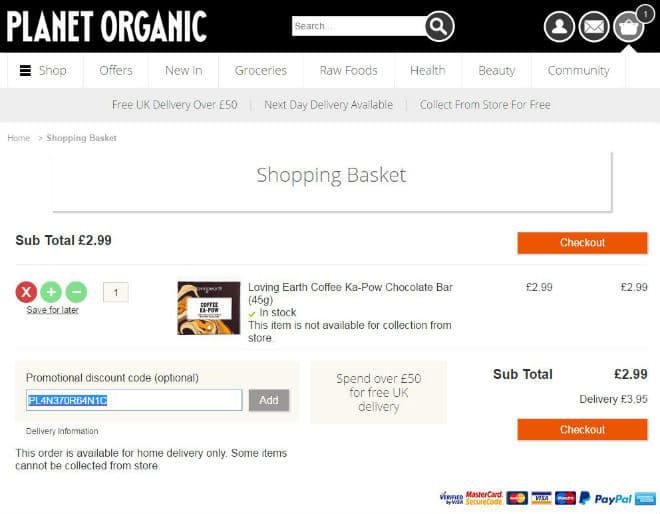 Planet Organic Promo Code