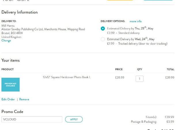 Snapfish voucher code