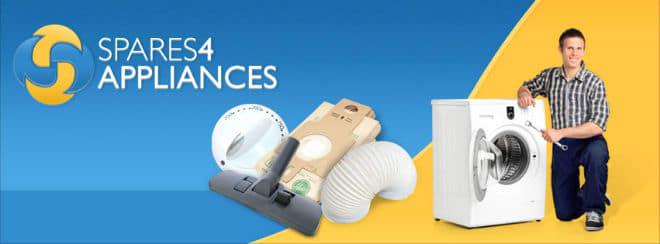 Spares4Appliances banner