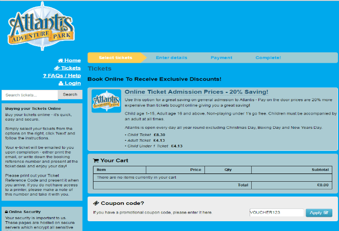 atlantis adventure park discount