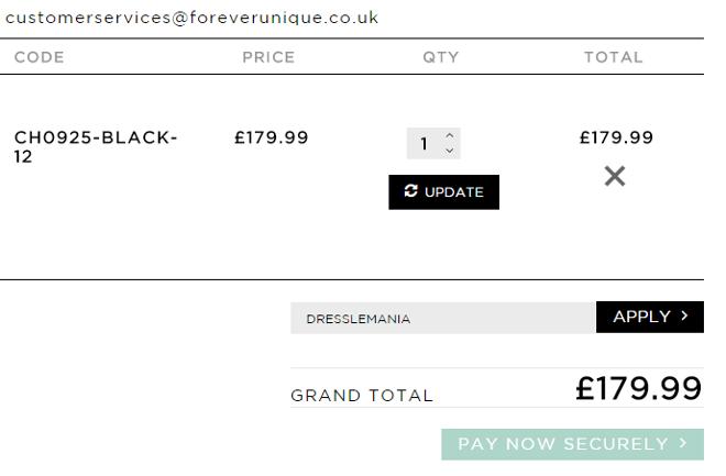 forever unique discount code