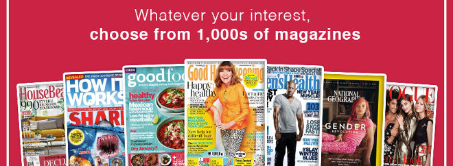 iSubscribe magazines
