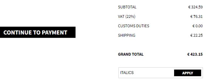 italist discount code