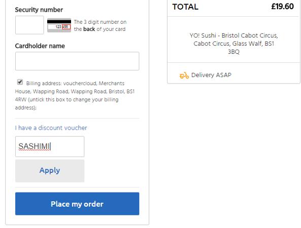 yo sushi voucher