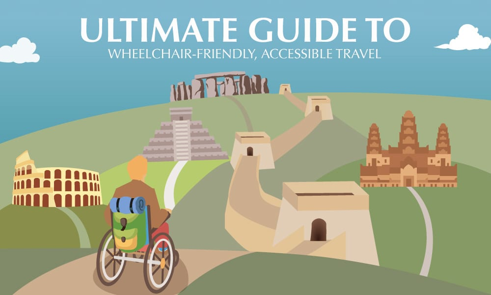 A view of famous sites from your wheelchair