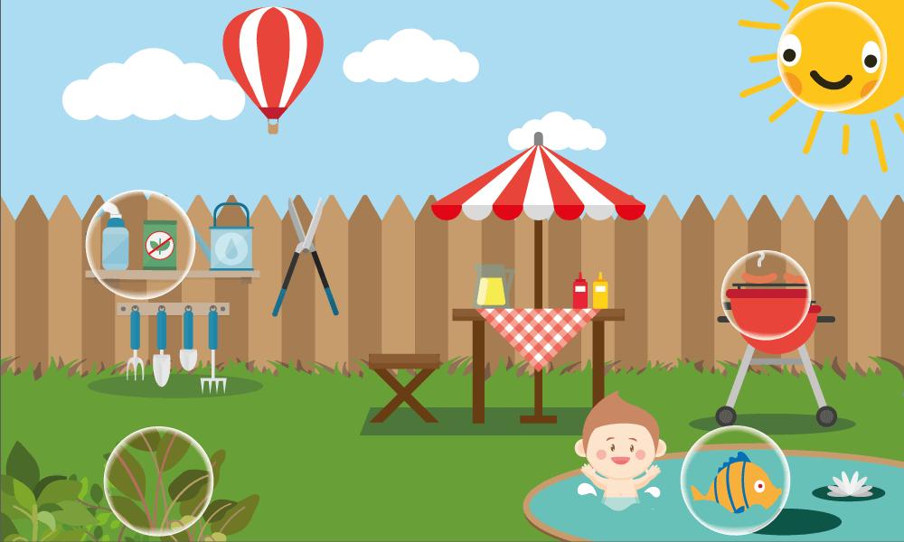 Garden hazards to children