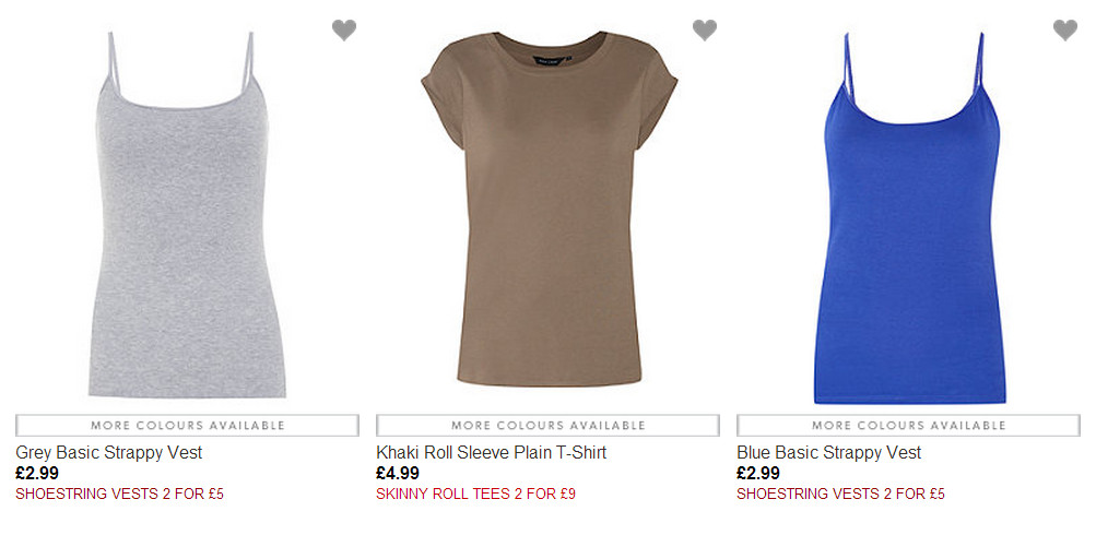 new look multi buy offers