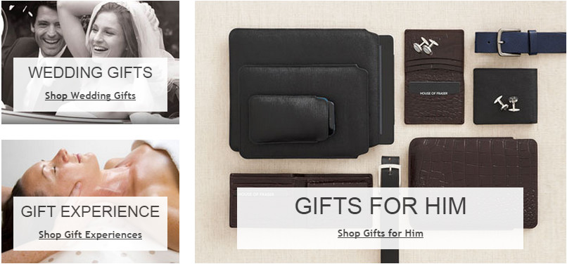 House of Fraser Gifts