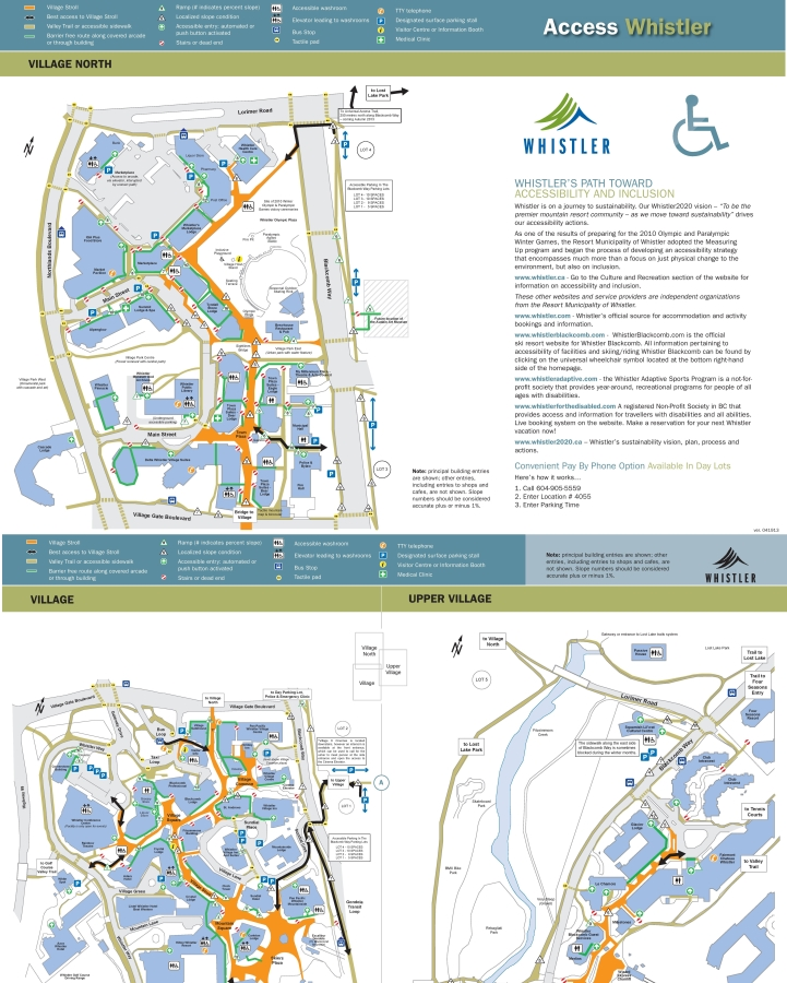 Whistler Access Map