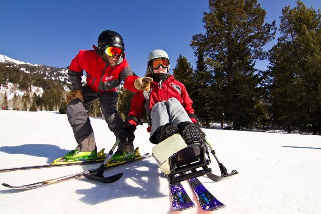 Adaptive Ski Lesson
