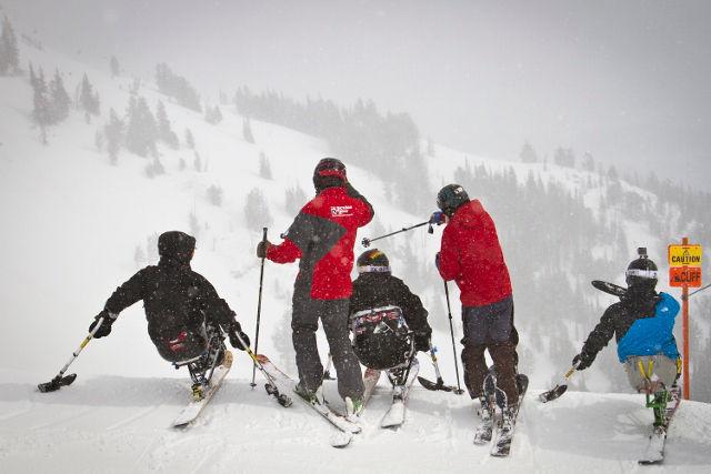 Sit Ski Lesson