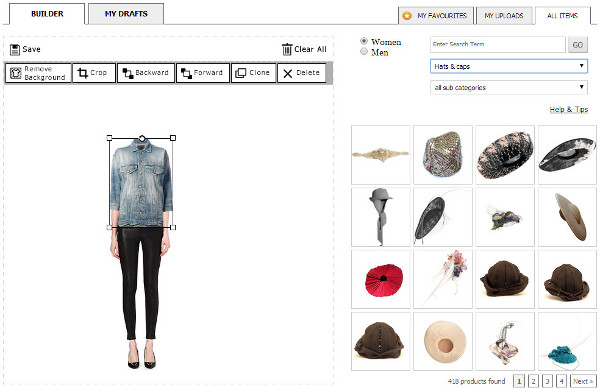 asos outfit builder