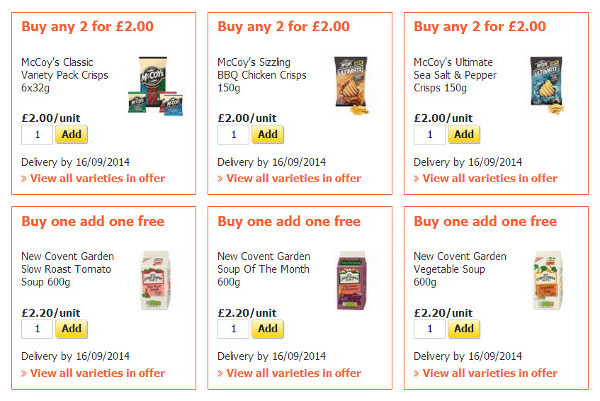 sainsburys offers