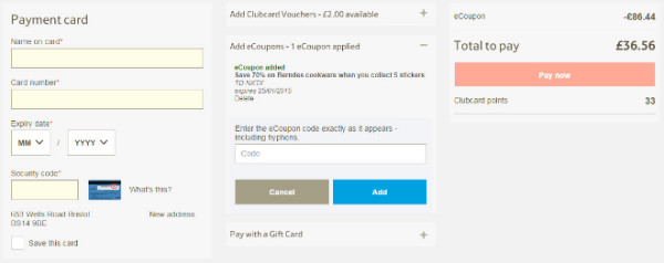 Tesco Direct Voucher Codes & Discount Codes → July 2017