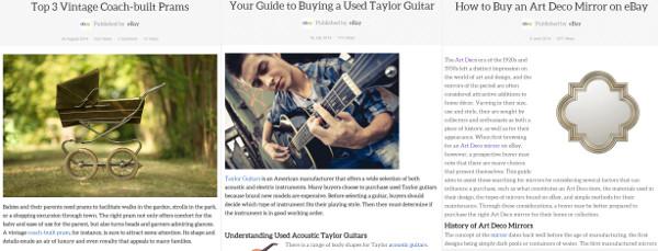 eBay buying guides