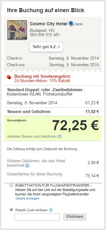 Wie löse ich Gutschein ein - Hotels.com