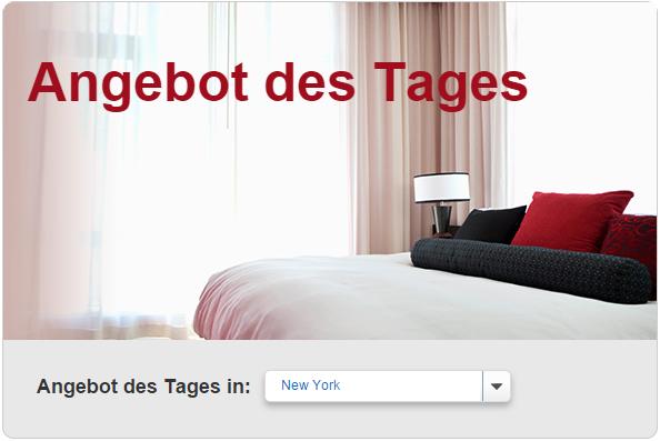 Angbot des Tages - Hotels.com