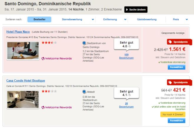 Suchergebnisse Hotels.com