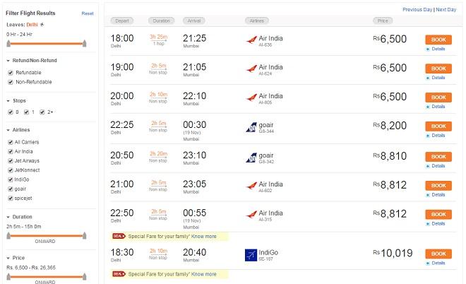 Discount coupons for international flight booking