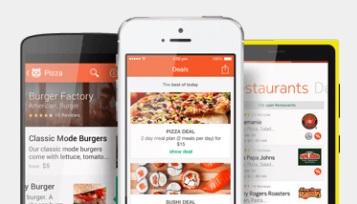 The Foodpanda app