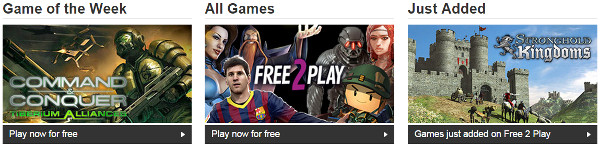 GAME free 2 play
