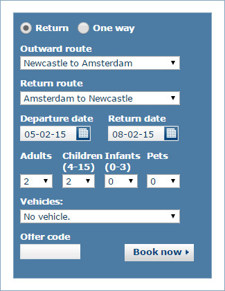 DFDS offer code
